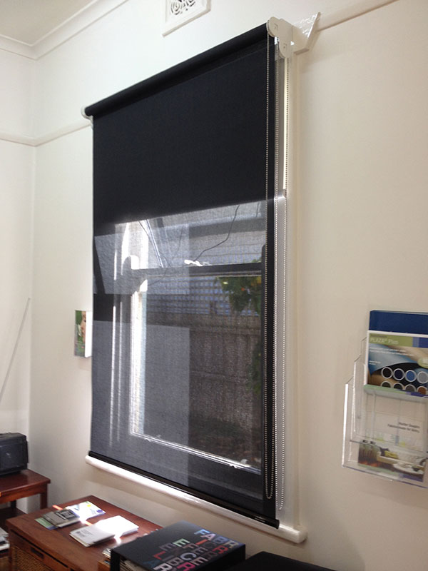 Double Roller Shades : Double roller blinds geelong